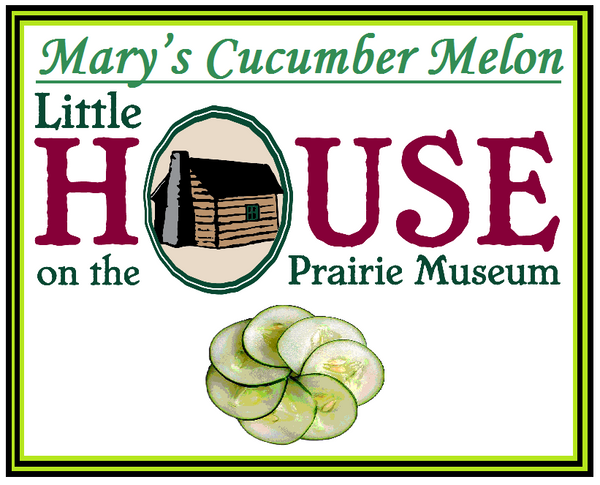 Mary's Cucumber Melon Candle by Little House on the Prairie Museum