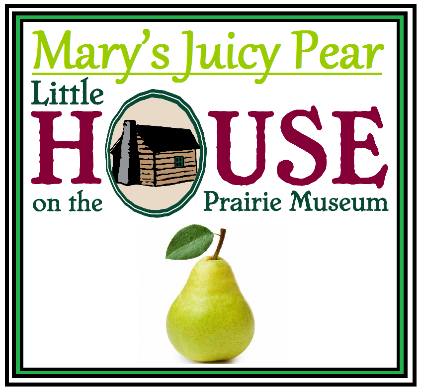 Mary's Juicy Pear Candle by Little House on the Prairie Museum