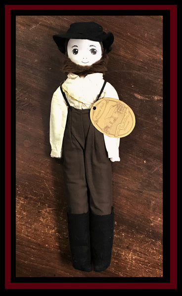 A Charles Ingalls / Pa Doll