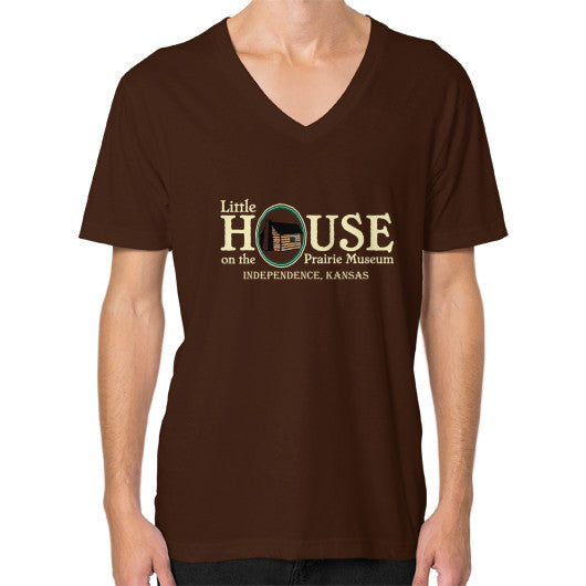 V-Neck (on man) Brown Little House on the Prairie Museum