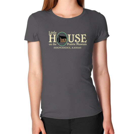 Women's T-Shirt Asphalt Little House on the Prairie Museum