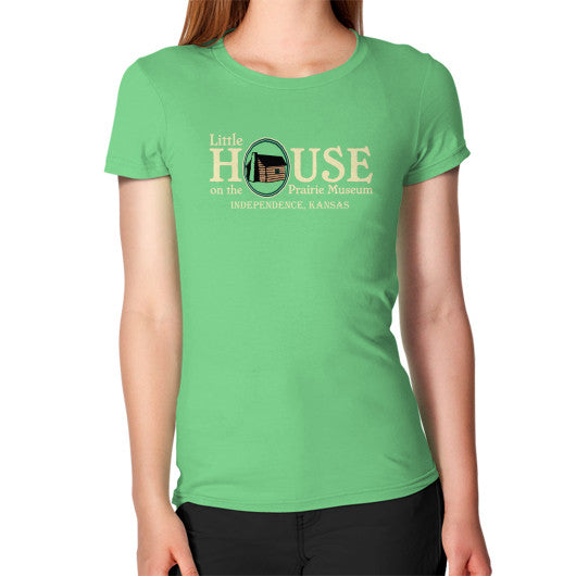 Women's T-Shirt Grass Little House on the Prairie Museum