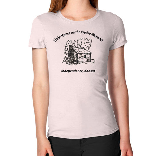 Women's T-Shirt Light pink Little House on the Prairie Museum