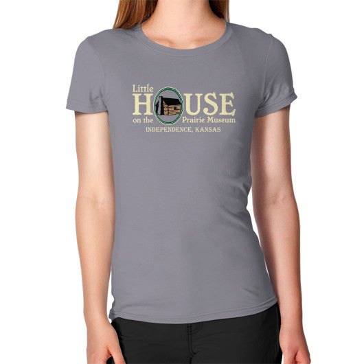 Women's T-Shirt Slate Little House on the Prairie Museum
