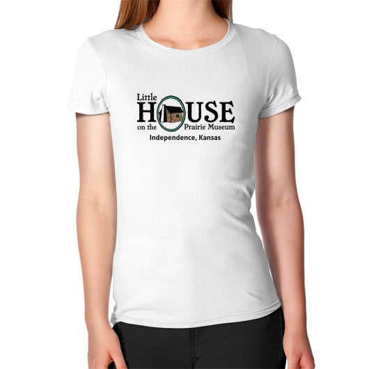 Women's T-Shirt White Little House on the Prairie Museum