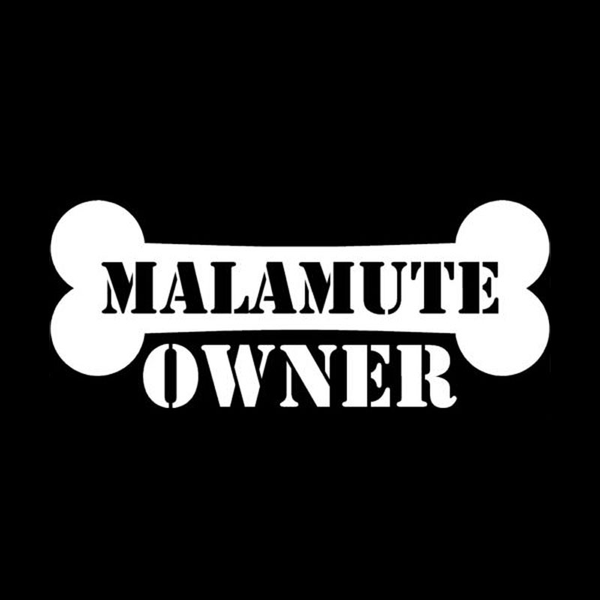 Malamute Owner Bumper Sticker