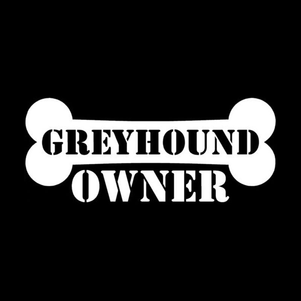 Greyhound Owner Bumper Sticker