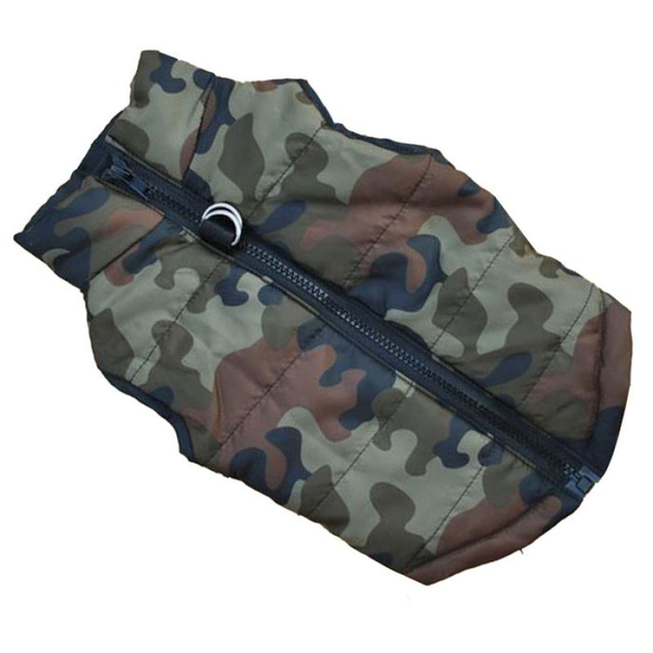 Doggy Camo Winter Vest