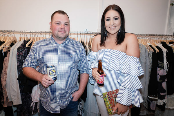 Miko and Mollie launch party pirate life port local beer and big shed brewing concern cherry popper cider