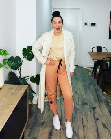 Ginger and Smart Horizon Trench Coat with PE Nation loungewear