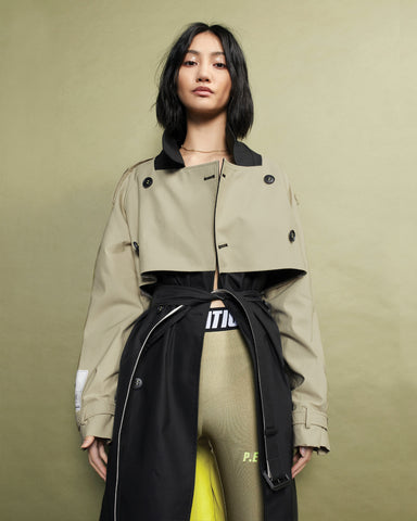 PE Nation Propel Trench Coat