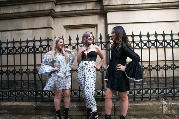 miko and mollie photo shoot stevie may sass and bide lexi mossman