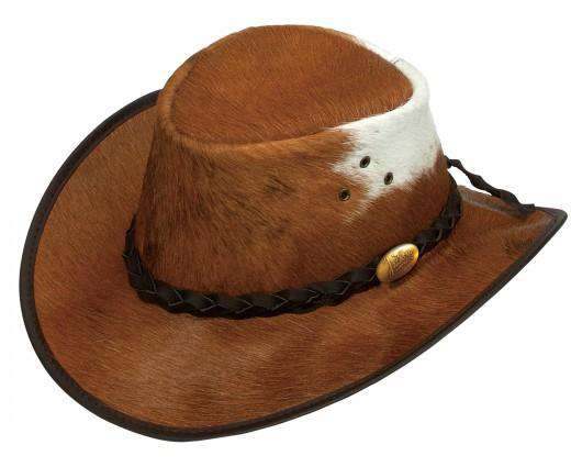 Jacaru Rustler Cow Hide Hat