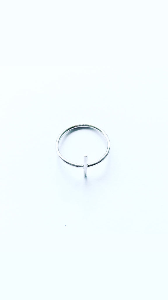 The Bali Artisan Collection Stirling Silver Cross Ring
