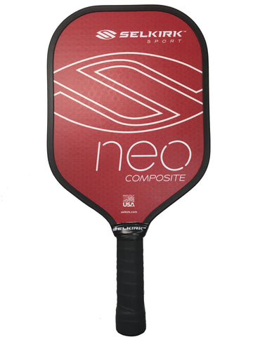 Red Selkirk NEO Polymer Composite Paddle - PickleballExperts.com