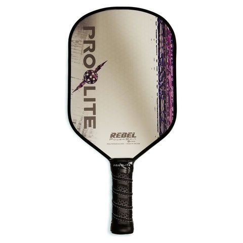 Purple Pro-Lite Rebel Powerspin Pickleball Paddle