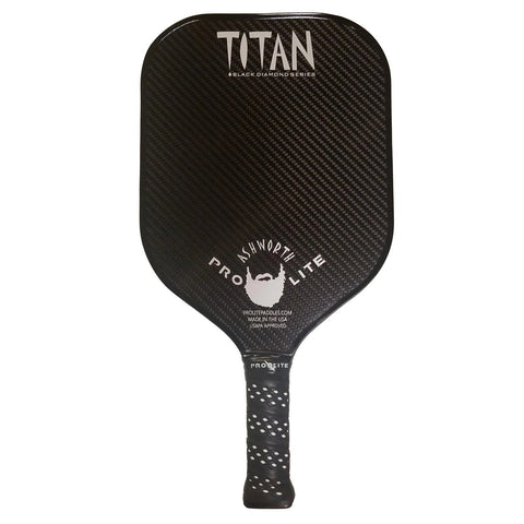 Large Titan Black Diamond Series Pickleball Paddle