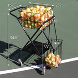 Mini Coach's Cart dimensions - PickleballExperts.com