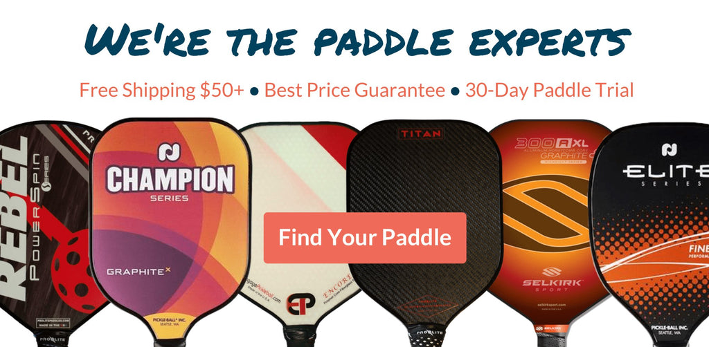 Pickleball paddles - PickleballExperts.com