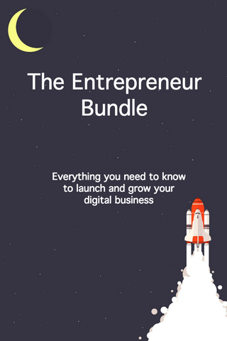 Entrepreneur bundle, Startup bundle, launch your business, passive income, digital business, dropshipping website, eBooks for Entrepreneurs