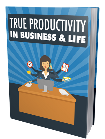 how to be more productive, business productivity, how to stop procrastinating, entrepreneurship, entrepreneur eBook, eBooks for Entrepreneurs