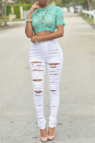 Distressed Nora Jeans