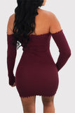 Peep Hole Bust Wiggle Dress