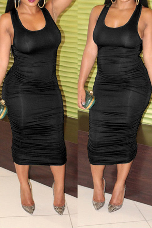 Ruched Bodycon Dress