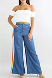 Flared Retro Bell Bottom Jeans - WHATWEARS