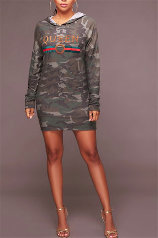 Camouflage Queen Dress фото