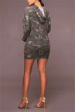 Camouflage Queen Dress - WHATWEARS