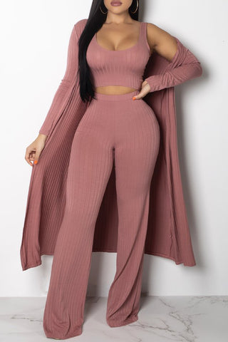 Sleeveless Stripe Print Belted Jumpsuit