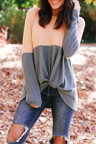 Irregular Patchwork Cashmere Sweater фото