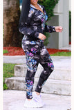 Digital printed Hoodie Sports Suit - WHATWEARS