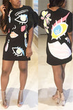Picasso Girl T-Shirt Dress