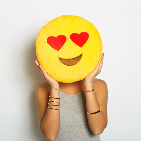 Love at first sight- HEARTS emoji