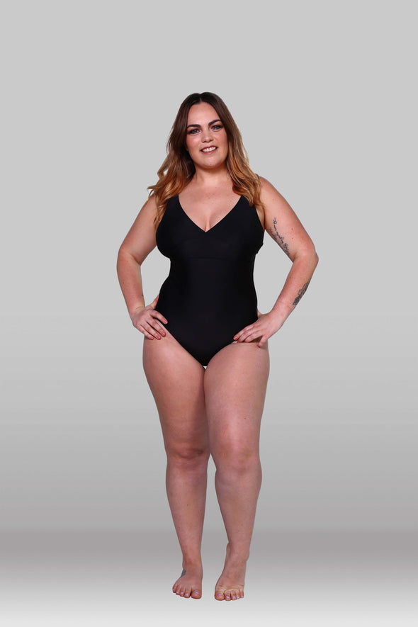 The Black Essential One Piece, One Piece, Hoola Collective - Hoola Collective