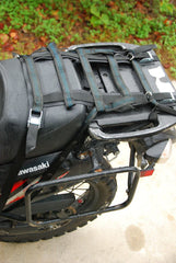 Uprising Soft Rack on Kawasaki KLR 650