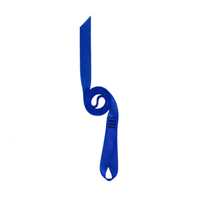 Blue Nylon Runner Loop Strap