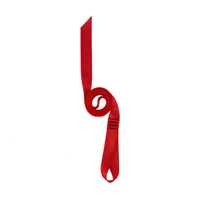 Red Nylon Runner Loop Strap