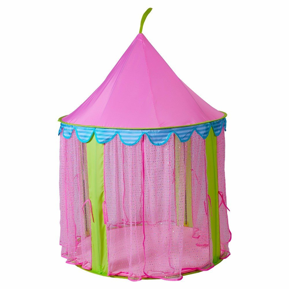 sc 1 st  Steegic & Steegic Pop Up Princess Castle Tent Anti-Mosquito Kids Playhouse-Pink
