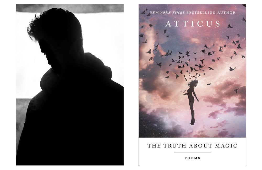 Atticus Poetry profile photograph and cover photo for the poetry book titled The Truth About Magic