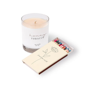 ATTICUS Candle & Matches Bundle
