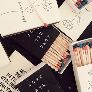 Matchboxes - Poetry Matches - Atticus