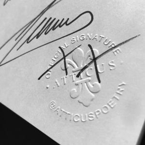 Atticus Signature - Signed Book