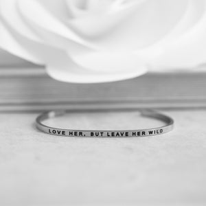 Silver Bracelet - Atticus Poems - Wild Accessories