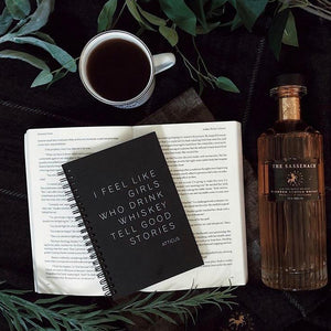 Journal - Coffee - Atticus Poem
