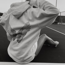 White Atticus Wings Hoodie - Atticus Poetry Merch - Love Poems