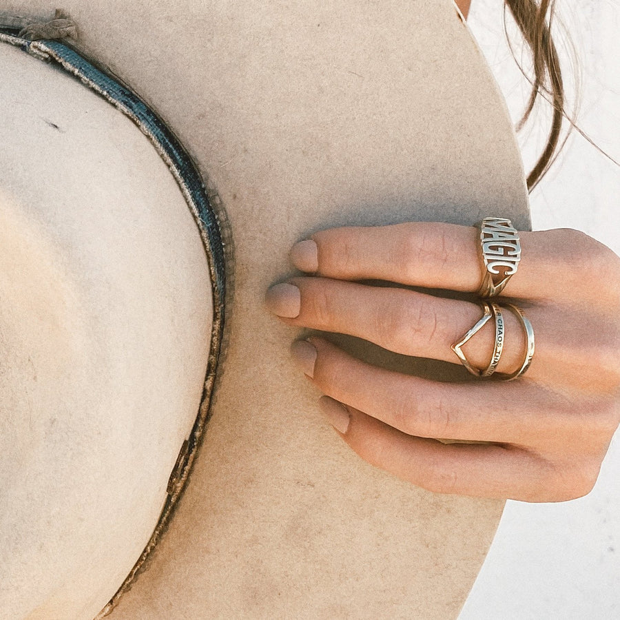 Atticus Poetry - Jewelry - Ring - Beautiful Chaos Ring