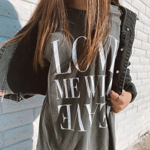 Love Me Wild - Vintage Black Tee - Atticus Poetry - Poems